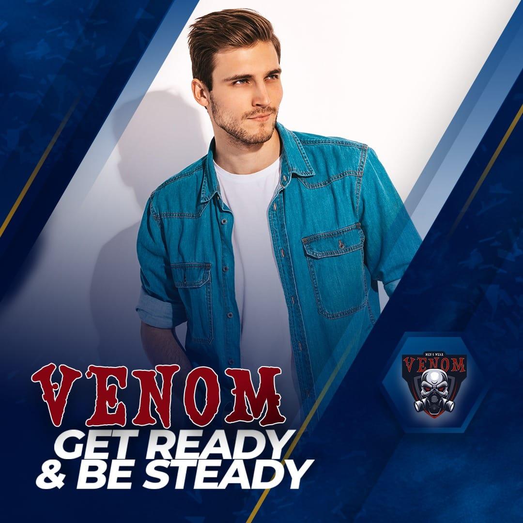 افتتاح محل Venom للملابس الرجالي يوم الخميس 3 سبتمبر